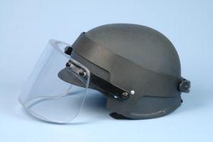 Nij Lever Iiia UHMWPE Bulletproof Helmet with Visor pictures & photos