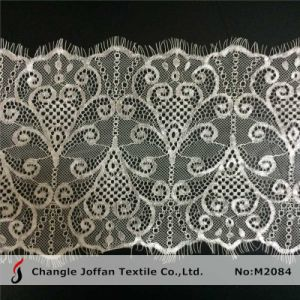 100% Nylon Eyelash Lace for Dress Material (M2084) pictures & photos