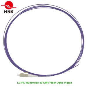LC PC PVC/LSZH Jacket Multimode 50 Om4 Fiber Optic Pigtail pictures & photos