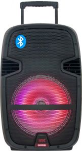 Rechargeable Karaoke Innovative Bluetooth Big Stage Speakers with LED Light F23 pictures & photos