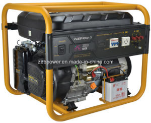 8kw Open Type Three Phase Portable Gasoline Generators (ZGEA9000-3 and ZGEB9000-3) pictures & photos