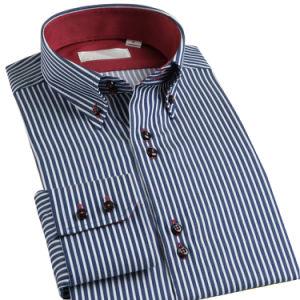 High Quality Long Sleeve Men′s Coton Dress Shirt Formal Shirt pictures & photos