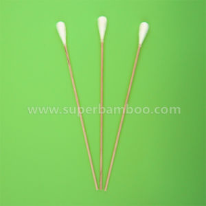 8′ Wooden Stick Cotton Swab for Medical/Industry Use (W3020311)