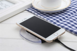 High Quality Qi Wireless Charger Receiver with Ti Solution for iPhone Android Type-C Input 1000mAh pictures & photos