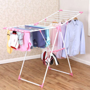 Powder Coated Steel Foldable Multi-Purpose Clothes Drying Rack pictures & photos