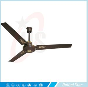 Unitedstar 56′′ Metal Cover Ceiling Fan (USCF-159) Withce/RoHS pictures & photos