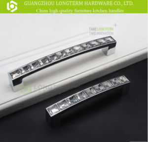 Zinc Alloy Luxurious Crystal Cabinet Kitchen Handles