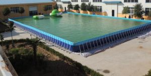 Metal Frame Swimming Pool for Backyard pictures & photos