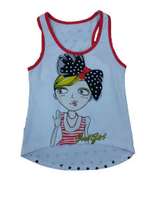 Fashion Kids Girl Vest in Children Clothes & Knit Vest with Fish (SV-015) pictures & photos