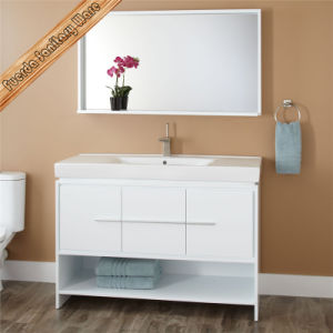 High Quality Solid Wood Modern Bathroom Vanity Cabinet pictures & photos