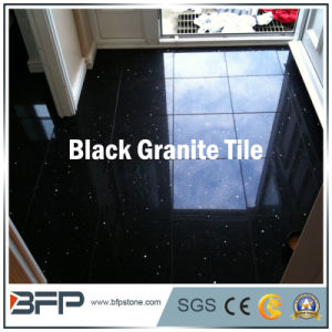 Natural Black Granite for Floor Tile, Paving Stone, Stair, Window Sill, Countertop pictures & photos