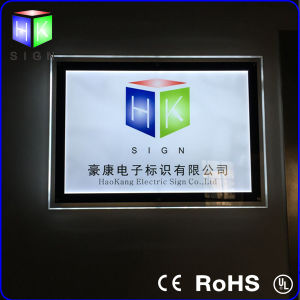 Wall Mounted Customized LED Acrylic Signboard pictures & photos
