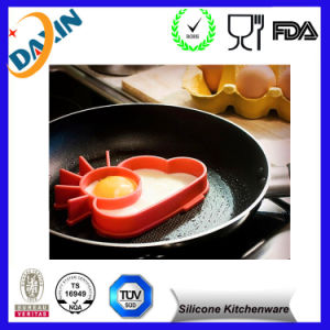 Colourful Egg Tart Shape Silicone Egg Mold pictures & photos