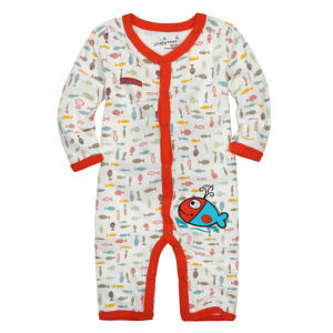2016 Cheap Customize Unisex Lovely Soft Cotton Comfortable Baby Romper pictures & photos