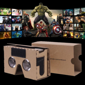 Virtual Reality 3D Glasses Headset Google Cardboard pictures & photos