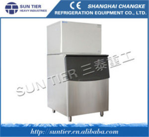 Cube Ice Maker/Water Dispenser Hot and Cold /Most Saving Energy Ice Machine pictures & photos