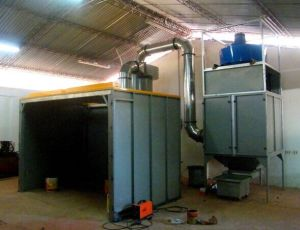 Manual Spray Booth Recovery Systems with Mono Cyclone pictures & photos