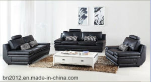 Living Room Genuine Leather Sofa (S-2026) pictures & photos