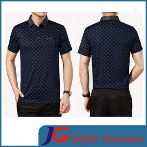 Business Cotton Meshbeat T-Shirt for Men (JS9030m) pictures & photos