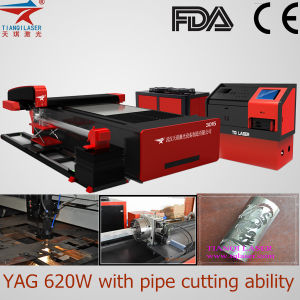 YAG Laser Cutter for Mild Metal Cutting Industry pictures & photos