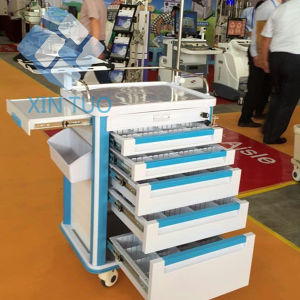 High Quality Factory Supply Anesthesia Car Medication Trolley pictures & photos
