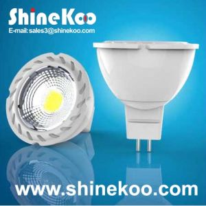 Aluminium MR16 5W COB LED Spotlight (SUN10-COB-MR16-5W-F) pictures & photos