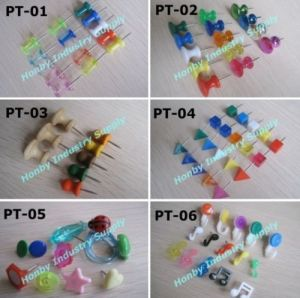 Assorted Shaped Map Push Pins for Office Using (P160217A) pictures & photos