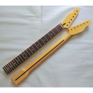 Left Handed Canadian Maple Guitar Neck Replacment for Tele Guitar pictures & photos