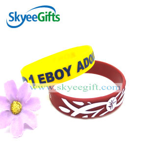 Wholesale Promotional Items China Silicone Bracelet for Festival Gift pictures & photos