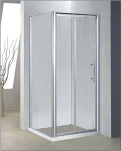 Bathroom 6mm Bifold Door Shower Enclosure (BT639) pictures & photos