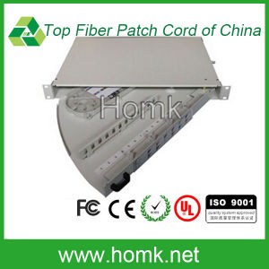 Rotating Type Fiber Optic Patch Panel pictures & photos