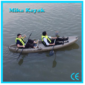 3 Person Sit on Top Kayak Fishing Boat for Sale Plastic Canoe pictures & photos