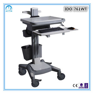 Medical Hospital Petients Use Mobile Workstation Trolley pictures & photos