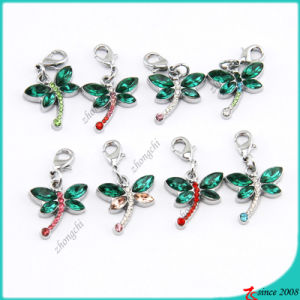 Rhinestone Fashion Butterfly Charms (MPE)