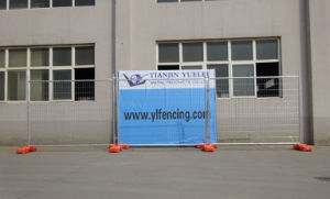 High Visibility Welded Wire Mesh Temporary Fence pictures & photos