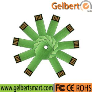 64GB Metal Thin Key USB 2.0 Flash Memory Stick pictures & photos