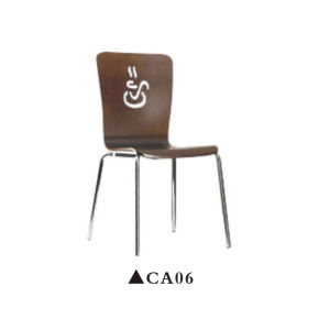 Coffee Back Design Wooden Chairs pictures & photos