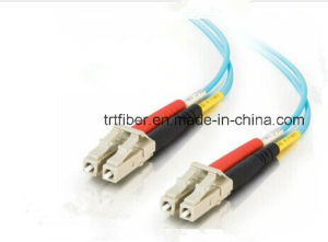 LC-LC mm 50/125 10g 2.0mm 10m Fiber Optic Patch Cord pictures & photos