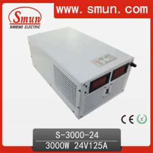 3000W 24VDC Single Output Switching Power Supply LCD Display pictures & photos