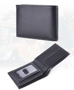 Genuine Leather Men Wallets (W103) pictures & photos