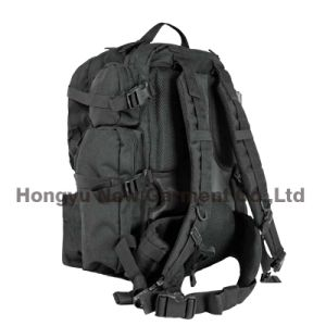 Heavy Duty Military Army Big Black Backpack Bag (HY-B096) pictures & photos