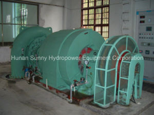 Horizontal Hydro (Water) Francis Turbine-Generator / Hydropower / Hydroturbine pictures & photos