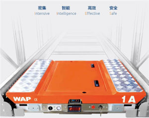 Automatic Pallet Shuttle with Wireless Remote Control pictures & photos