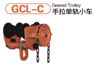 3 Ton Manual Geared Trolley pictures & photos