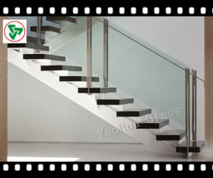 Modern Glass Balustrade of Laminated Tempered Glass pictures & photos