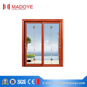 Foshan Hot Sale Sliding Door with Chinese Style Decorative Pattern pictures & photos