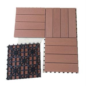 Factory Cheap DIY WPC Deck Tile (30X30) for Outdoor Garden pictures & photos
