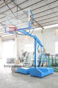 Tempered Glass Basketball Backboard Fixed Movable Basketball Stand pictures & photos