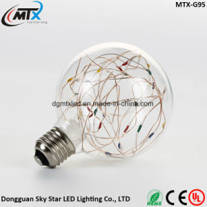 micro LED string lights 3W Edison Bulb LED Strip E27 G80 Creatives Sky Stars Starry String Light Filament Lamp Home Bar Decor Pendant Lighting 110-240V pictures & photos