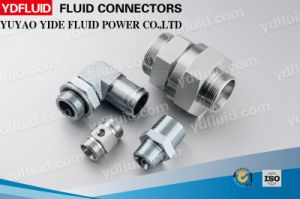 High Quality Customized Hydraulic Pipe Fitting Hydraulic Fitting pictures & photos